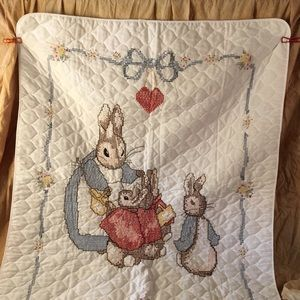Other - Cross stitch blanket.